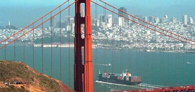Bay area, San Francisco Golden Gate Bridge