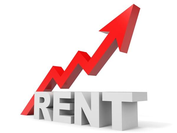 Graph up rent arrow