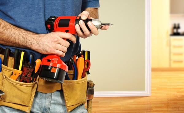 Handyman ready for work