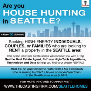 house hunting in Seattle flyer